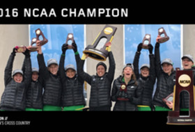 2016 NCAA National Champion - Oregon women's cross country