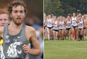 Washington State men's cross country's Michael Williams and Utah women's cross country