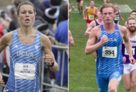 UCLA cross country Carolina Johnson and Ferdinand Edman
