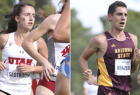 2016 Pac-12 Cross Country All-Academic Teams - Utah's Giselle Slotboom and Arizona State's Cody Brazeal