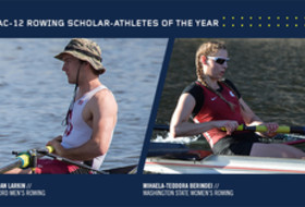 Stanford's Brendan Larkin, Washington State's Mihaela-Teodora Berindei named Pac-12 men's and women's scholar-athletes of the year