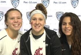 2017 Pac-12 Swimming (W) & Diving (M/W) Championships: Washington State freshman phenoms help build program