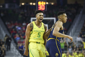 2017 Pac-12 Men's Basketball Tournament: Oregon closes out upset-minded Cal