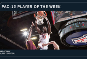 Pac-12 Men's Basketball Player of the Week Jan. 1, 2018 Arizona's Deandre Ayton
