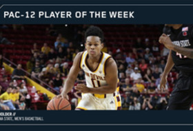 Pac-12 Player of the Week Tra Holder Arizona State Nov. 20, 2017