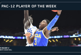 Pac-12 Men's Basketball Player of the Week Dec. 25, 2017 UCLA's Aaron Holiday