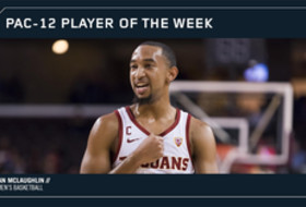 Pac-12 Men's Basketball Player of the Week Dec. 18, 2017 USC's Jordan McLaughlin