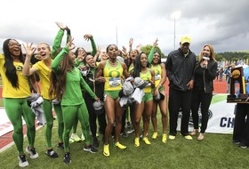 Roundup: Triple crown complete for Oregon women's track & field team