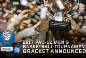 2017 Pac-12 Men's Basketball Tournament bracket announced