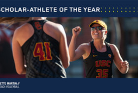 USC's Nicolette Martin was named Pac-12 Scholar-Athlete of the Year