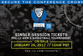 2017 Pac-12 Men's Basketball Tournament Single-Session Tickets