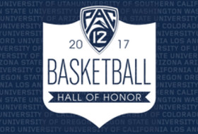 2017 Pac-12 Basketball Hall of Honor graphic