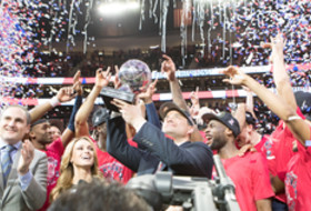 2017 Pac-12 Men's Basketball Tournament champions Arizona