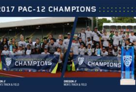 2017 Pac-12 Track & Field champions Oregon