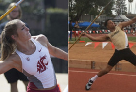 2017 Pac-12 multis day 1 Alissa Brooks-Johnson Isaiah Oliver