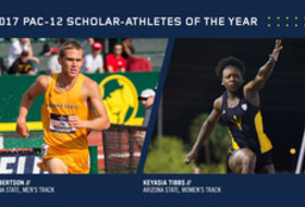 2017 Pac-12 Track & Field Scholar-Athletes of the Year
