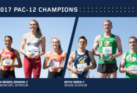 2017 Pac-12 Track & Field combined events champions