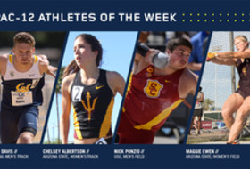 Pac-12 Track & Field Athletes of the Week March 21, 2017