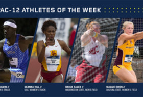 Pac-12 Track & Field Athletes of the Week March 28, 2017