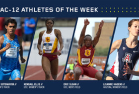 Pac-12 Track & Field Athletes of the Week for April 11, 2017