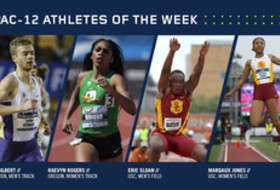 Pac-12 Track & Field Athletes of the Week for April 18, 2017