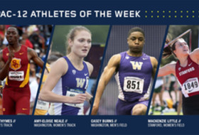 Pac-12 Track & Field Athletes of the Week for April 4, 2017