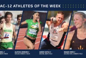 Pac-12 Track & Field Athletes of the Week for May 2, 2017