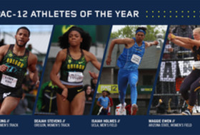2017 Pac-12 Track & Field awards