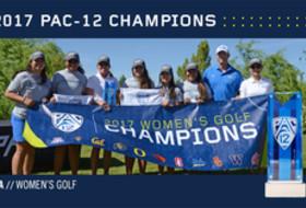 UCLA 2017 Pac-12 Women's Golf Champions