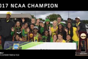2017 NCAA Outdoor Track & Field Champions Oregon