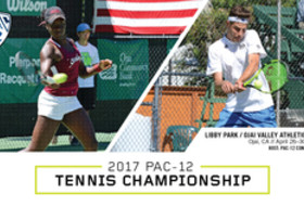 Teams set for 2017 Pac-12 Men's and Women's Tennis Championship