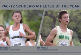 2017 Pac-12 Cross Country Scholar-Athletes of the Year