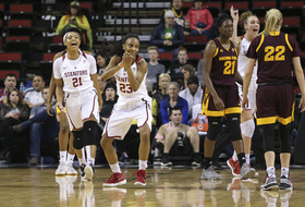 2018 Pac-12 Women's Basketball Tournament: Stanford downs Arizona State, advances to 15th Pac-12 Tournament championship