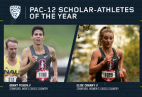 2018 Pac-12 Cross Country Scholar-Athletes of the Year