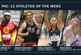 Pac-12 Track & Field Athletes of the Week March 20, 2018