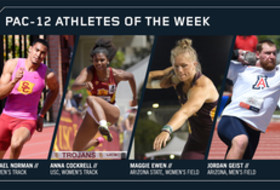 Pac-12 Track & Field Athletes of the Week April 10, 2018
