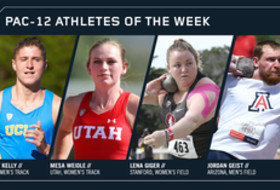 Pac-12 Track & Field Athletes of the Week April 17, 2018