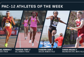Pac-12 Track & Field Athletes of the Week April 24, 2018