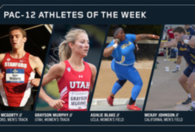 Pac-12 Track & Field Athletes of the Week April 3, 2018