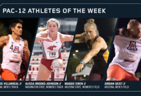 Pac-12 Track & Field Athletes of the Week May 1, 2018