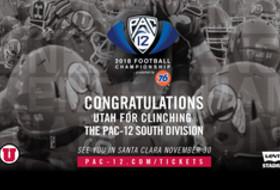 Utah Clinches Pac-12 South