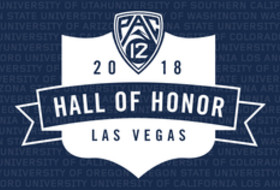 2018 Pac-12 Hall of Honor logo
