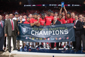 2018 Pac-12 Men's Basketball Regular-Season Champions Arizona