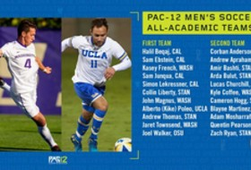 Pac-12 announces men's soccer All-Academic honors