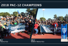 2018 Pac-12 Track & Field Champions