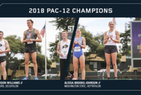 2018 Pac-12 Track & Field Championships combined events champions