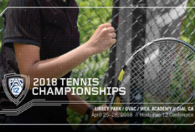Brackets set for 2018 Pac-12 Men's and Women's Tennis Championships
