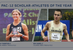 2018 Pac-12 Track & Field Scholar-Athletes of the Year