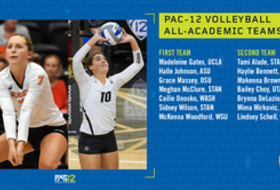 Pac-12 announces volleyball All-Academic honors