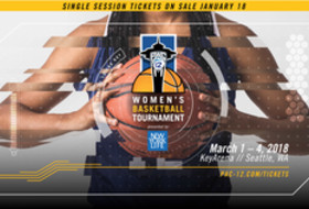 Single-session tickets to Pac-12 Women's Basketball Tournament on sale